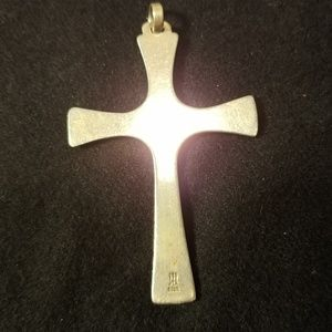 James Avery Jewelry - James Avery Silver Serenity Dove Cross Pendant